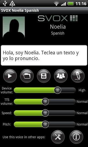 SVOX Spanish Noelia Voice