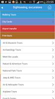Screenshot of Brussels Guide Map Hotels Trip
