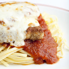 Boneless Pork Chops Parmigiana