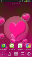 Screenshot of Hearts Live Wallpaper Sweet