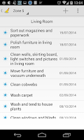 Screenshot of Cleaning Organizer