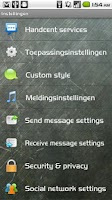 Screenshot of Handcent Dutch Language Pack