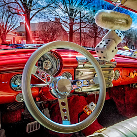 Dashing View by RomanDA Photography - Transportation Automobiles ( 2014, cars, spring, cruise-in )