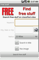Screenshot of Find Free Stuff