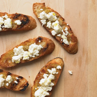 Grilled Bread with Cotija