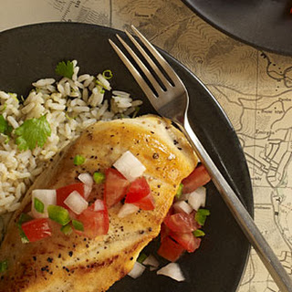 Sautéed Chicken Breasts with Pico de Gallo