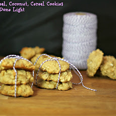 Oatmeal, Coconut Cereal Cookies