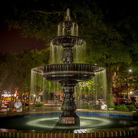 by Pam Wendel - City,  Street & Park  Fountains (  )