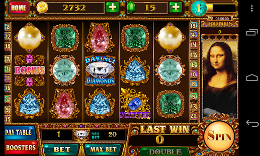 Davinci Diamonds Mobile Free Slot Game - IOS / Android Version