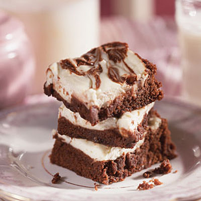 Fudgy Cream Cheese Brownies
