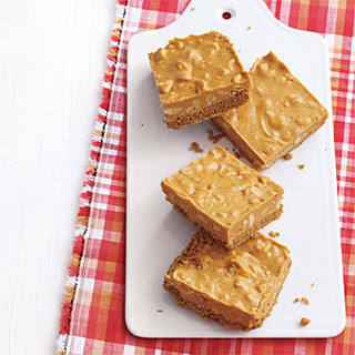 Salted-Peanut Butterscotch Bars