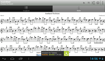 Screenshot of musicSheet (FREE)
