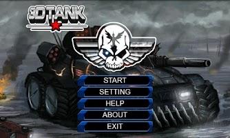 Screenshot of Fatal 3D Tank War