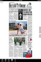 Screenshot of Herald-Tribune eEdition