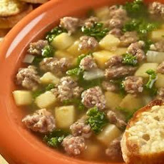 Ohio Sausage and Kale Soup