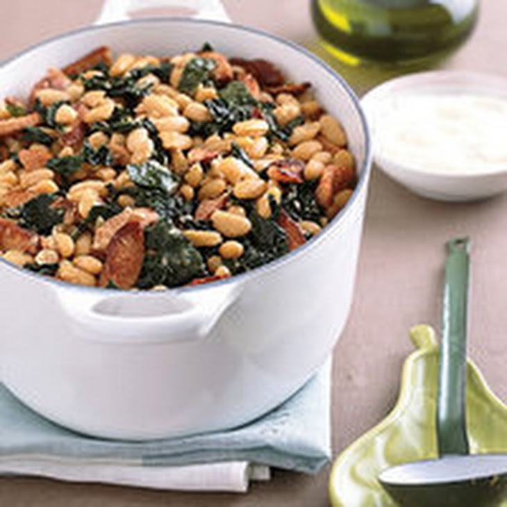 White Bean, Sausage and Kale Stew Recipe | Yummly