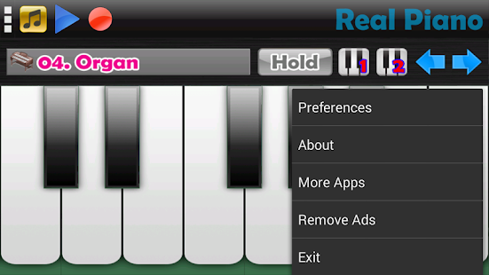 Game Real Piano APK for Kindle