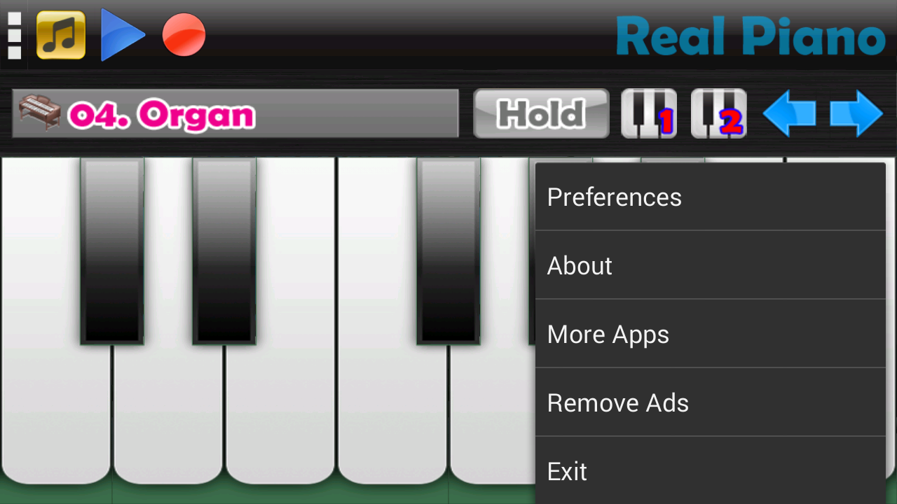 Real Piano Screenshot 4