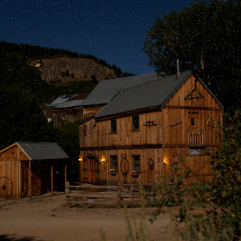 Black Smith shop by Vern Tunnell - Buildings & Architecture Public & Historical