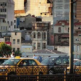 by Sveta Celik - City,  Street & Park  Street Scenes