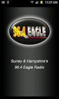 Screenshot of 96.4 Eagle Radio