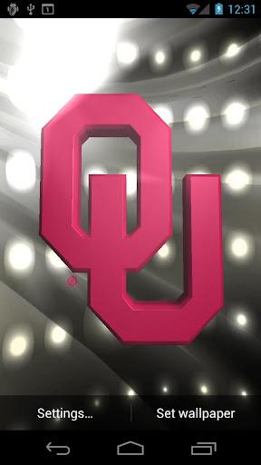 Oklahoma Sooners LWPs & Tone - screenshot