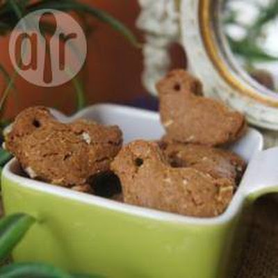 Brie's Gingerbread Men Dog Biscuits