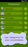 Screenshot of Password Saver