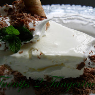 Fluffy Frozen Grasshopper Pie