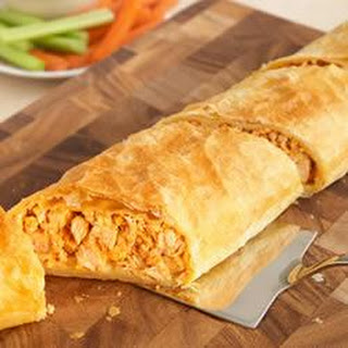 Buffalo Chicken Stromboli