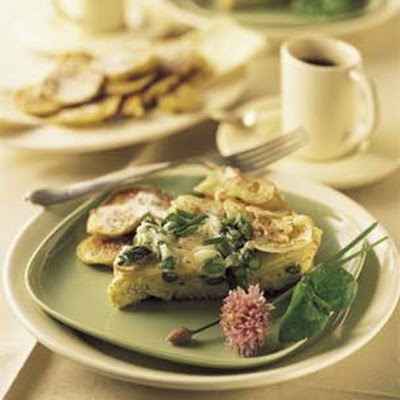 Asparagus and Potato Frittata