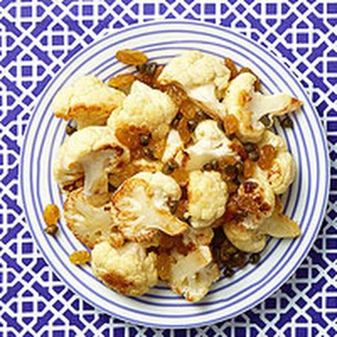 Sweet & Tangy Cauliflower