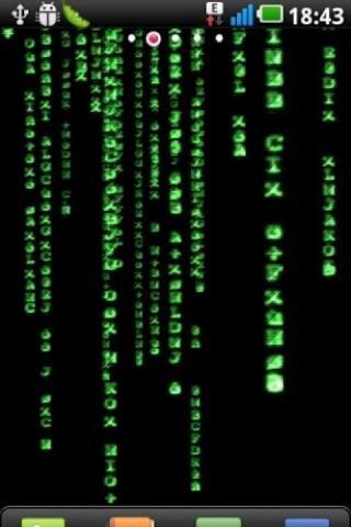 3D Matrix Reality Live Wallpap