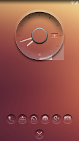Screenshot of K-clock - analog clock zooper