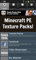 Screenshot of Texture Packs For Minecraft PE