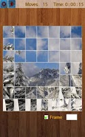 Screenshot of Snow Landscape Jigsaw Puzzles