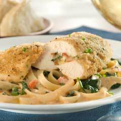 Fontina & Bacon-stuffed Chicken Breasts