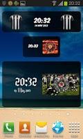 Screenshot of Partizan Beograd Digital Clock