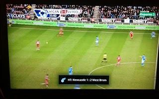 Screenshot of Football Push Scores Lite