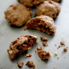 Chocolate-Almond Cookies (Strazzate)
