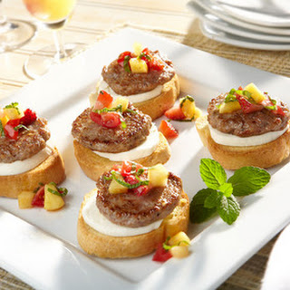 Sweet and Savory Bruschetta