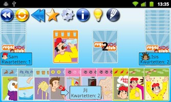 Screenshot of Go Fish! SugarKidsClub