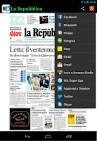 Screenshot of Prima Pagina