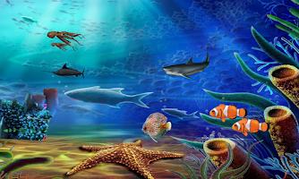 Screenshot of Aqua Life Free Live Wallpaper