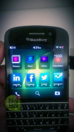 BB10 NSeries X10 device by BlackBerry BB10 phone