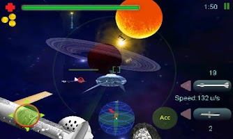 Screenshot of SpaceMOA 3D
