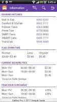 Screenshot of Cabbie - Taxi Cab Booking