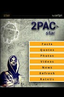 Screenshot of Tupac Shakur Star