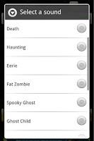 Screenshot of Spooky Sounds