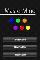 Screenshot of MasterMind